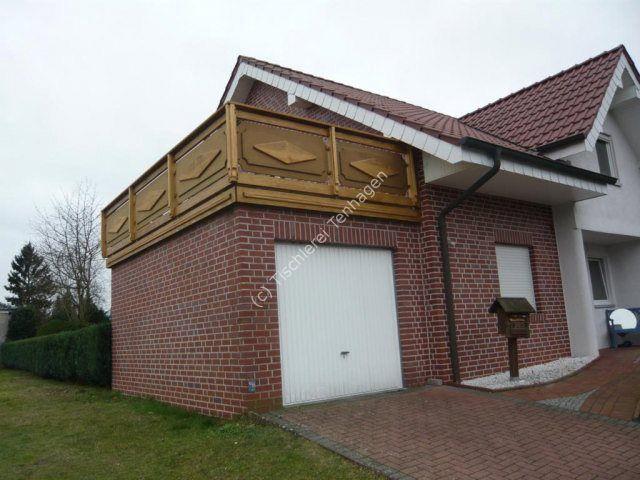 Balkon in Accoya, wetterfest