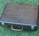 Koffer aus Holz