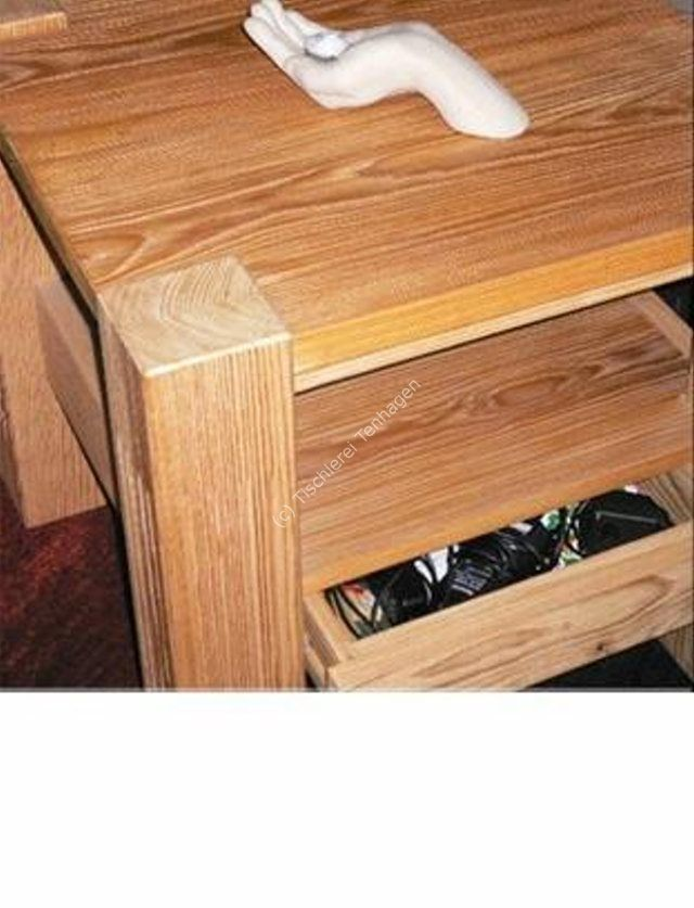 Couchtisch Schublade offen