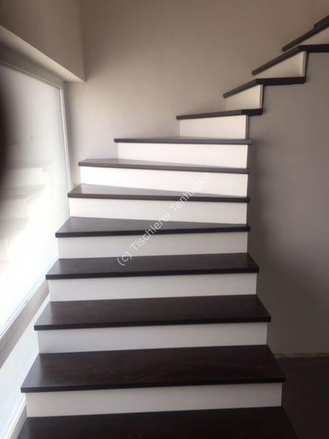 Treppe mit Setzstufen